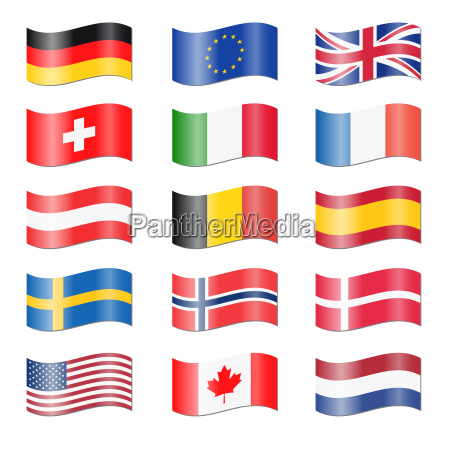 set countries swung flags