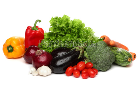 delicious group of healthy vegetables