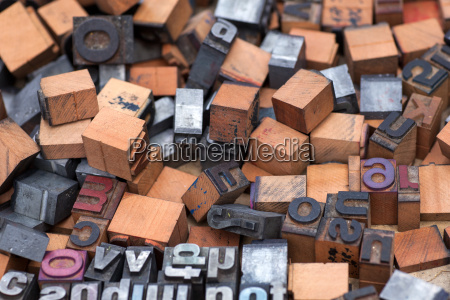 aphabet stamp block letters