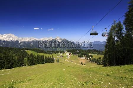 austria mountains panorama