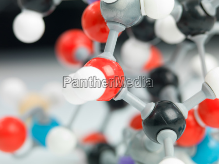 three dimensional representation of molecular
