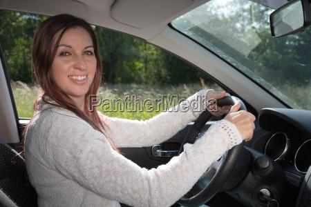 laughing motorist