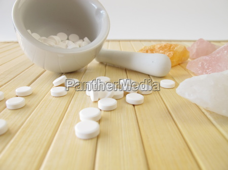 tissue salts with mortar made of