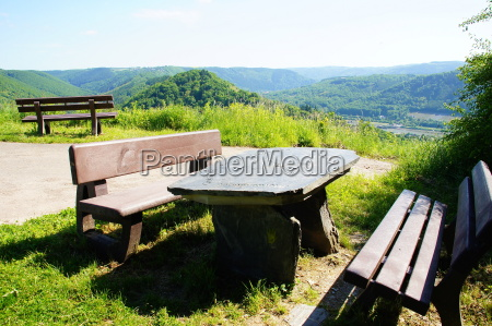 resting place high above the moselle