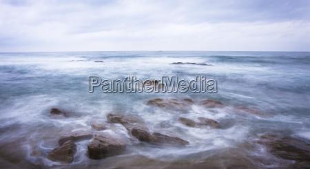 rough ocean scene