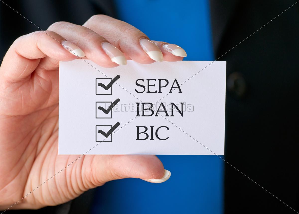 sepa, -, iban, -, bic - 9611474