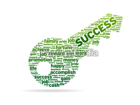 words key to success