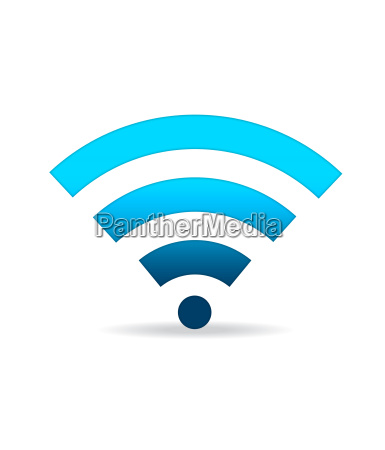green wifi sign