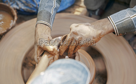 9369 090613 6100 horizontal potters wheel