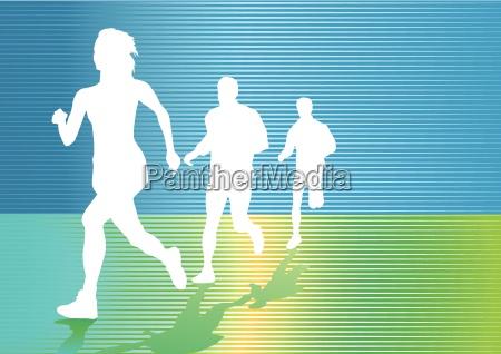endurance and jogging
