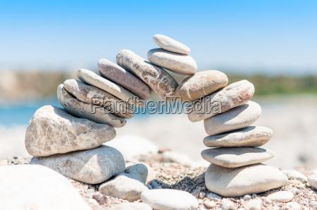 equilibrio tumulo pietraia stabilita equilibrato zen