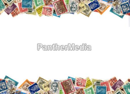 francobolli di confine