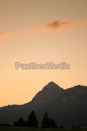 mountain einstein in the tannheimer tal