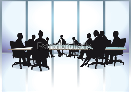 group of business people in a