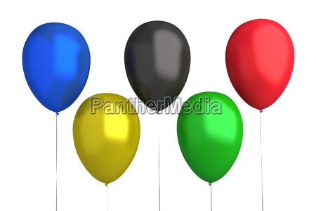 olympic games balloons 5