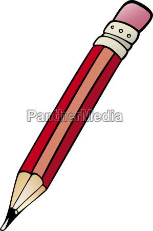 pencil clip art cartoon illustration