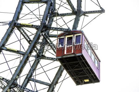 gondola of ferris wheel vienna