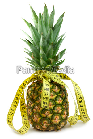 ripe juicy pineappl