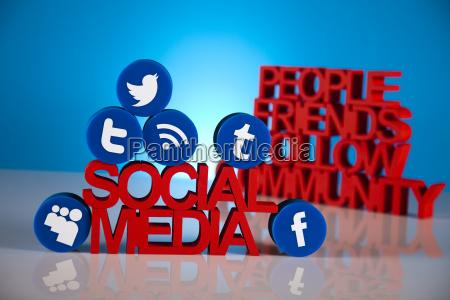 communication internet concept social media