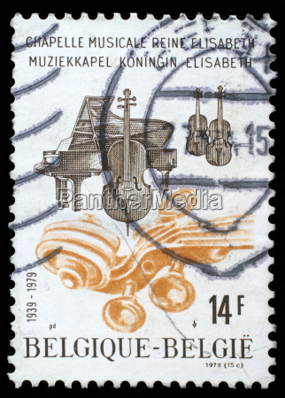 stamp printed by belgium dedicated to