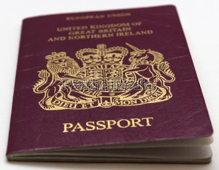 passport kingdom of great britain and