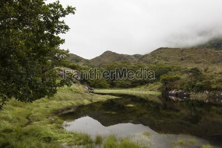 lake at the upper lake of