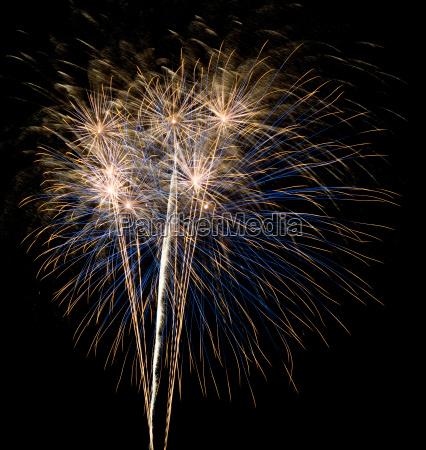 high fireworks