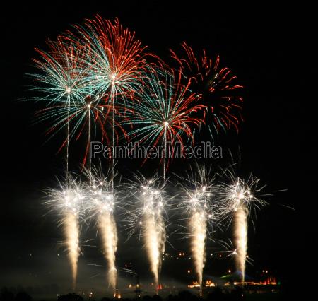 fireworks scene