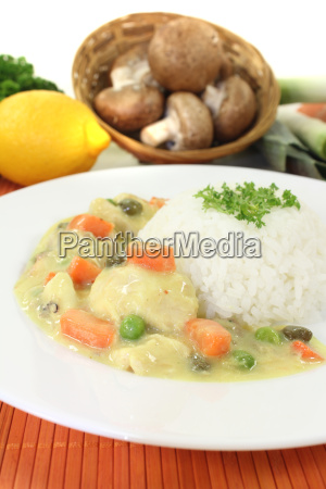 chicken fricassee with capers