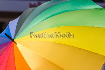 a rainbow for tolerance