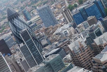 modern city of london