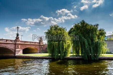 moltke bridge over the spree river