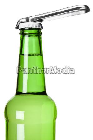 open the beer