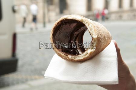 trdelnik rolled pastries in prague