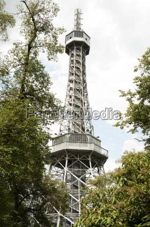 petrin lookout tower prague czech