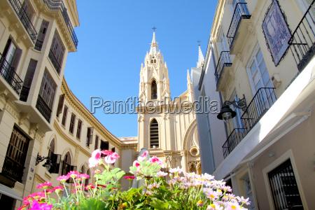 santo christo church in malaga