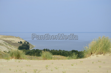 sand dunes on the curonian spit