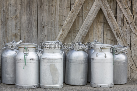 ready to eat milk jugs in