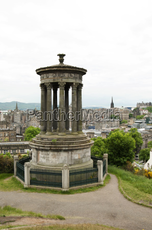 the dugald stewart monument and the