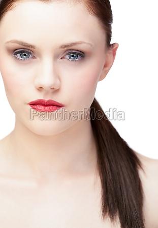 mujer hermoso bueno liberado femenino marron