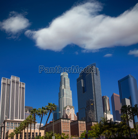 la downtown los angeles pershing square
