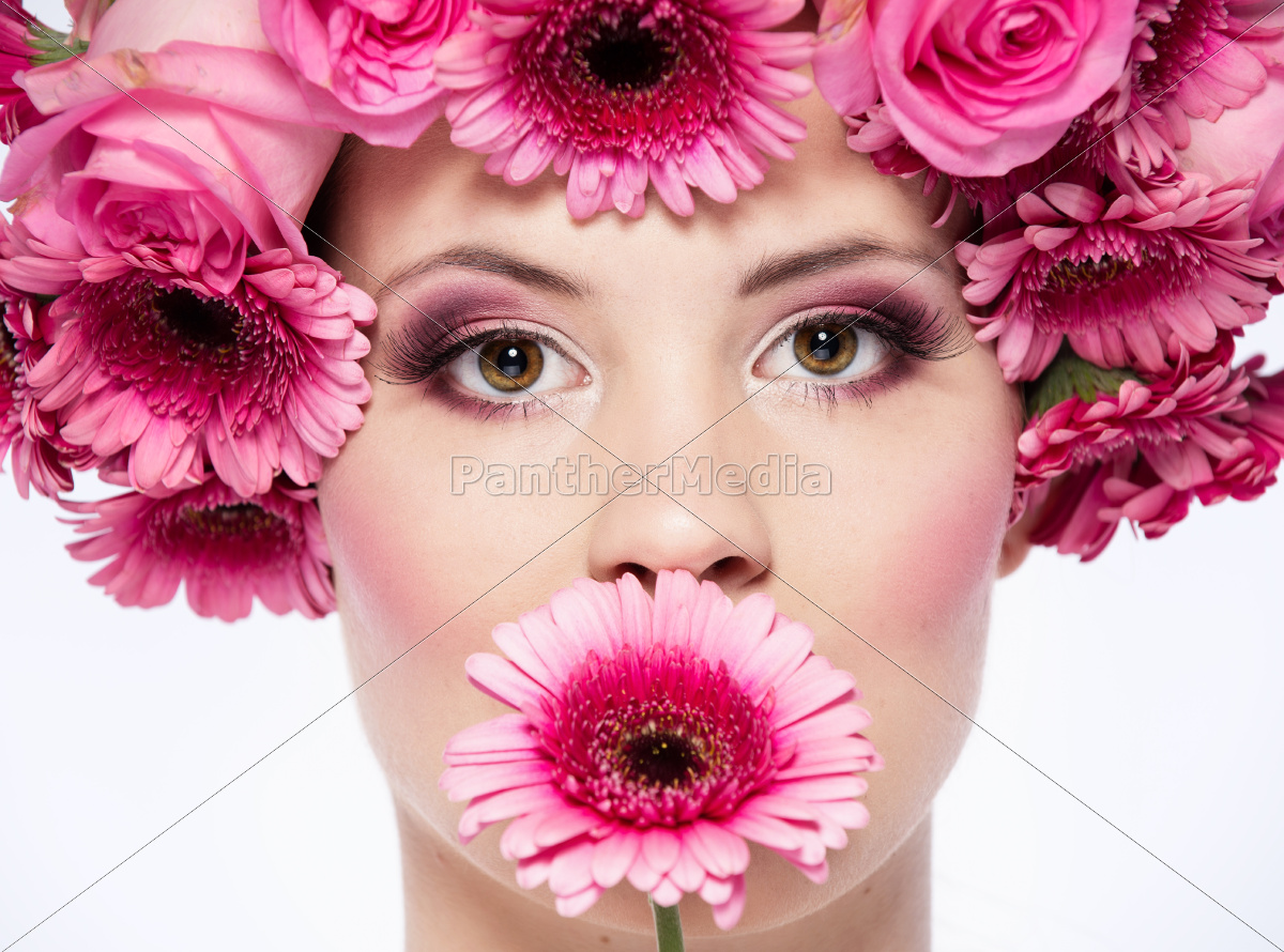 face, of, flowers - 10004544