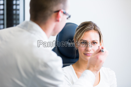 optometry, concept, -, handsome, young, man - 10005074