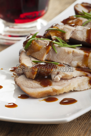 roasted pork dish