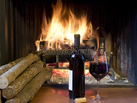 a, glass, of, wine, in, front - 10008214