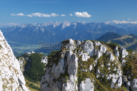 panoramic view from the wendelstein