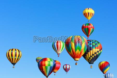 colorful, hot, air, balloons - 10022058