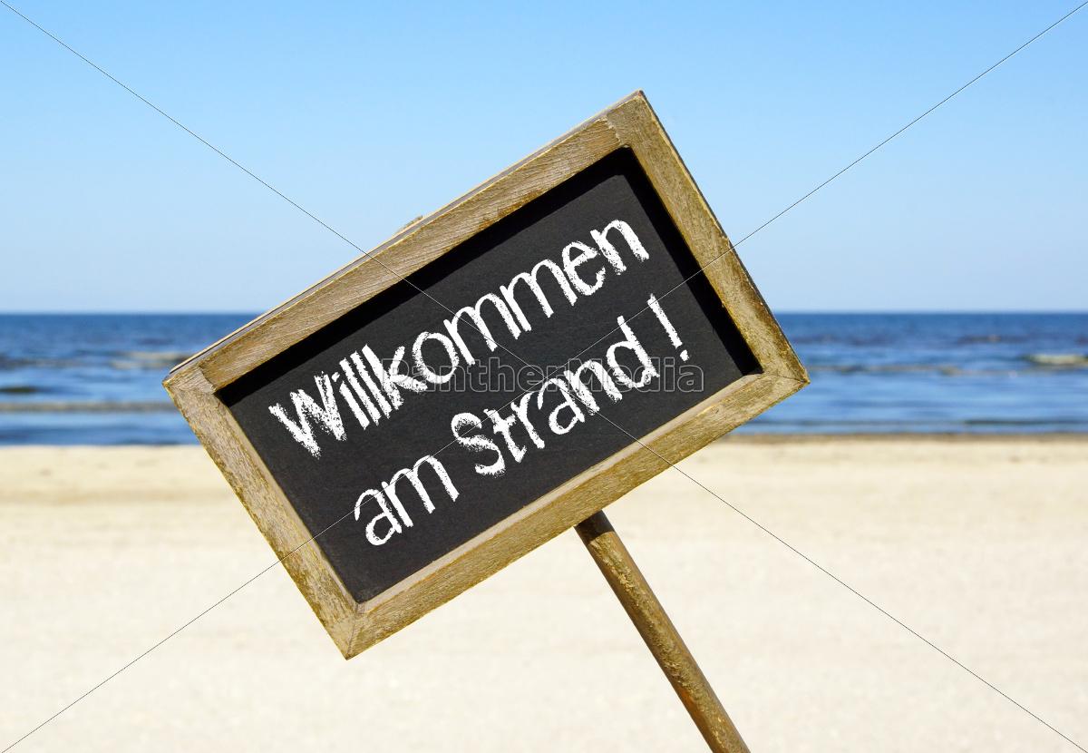 welcome, on, beach - 10023516