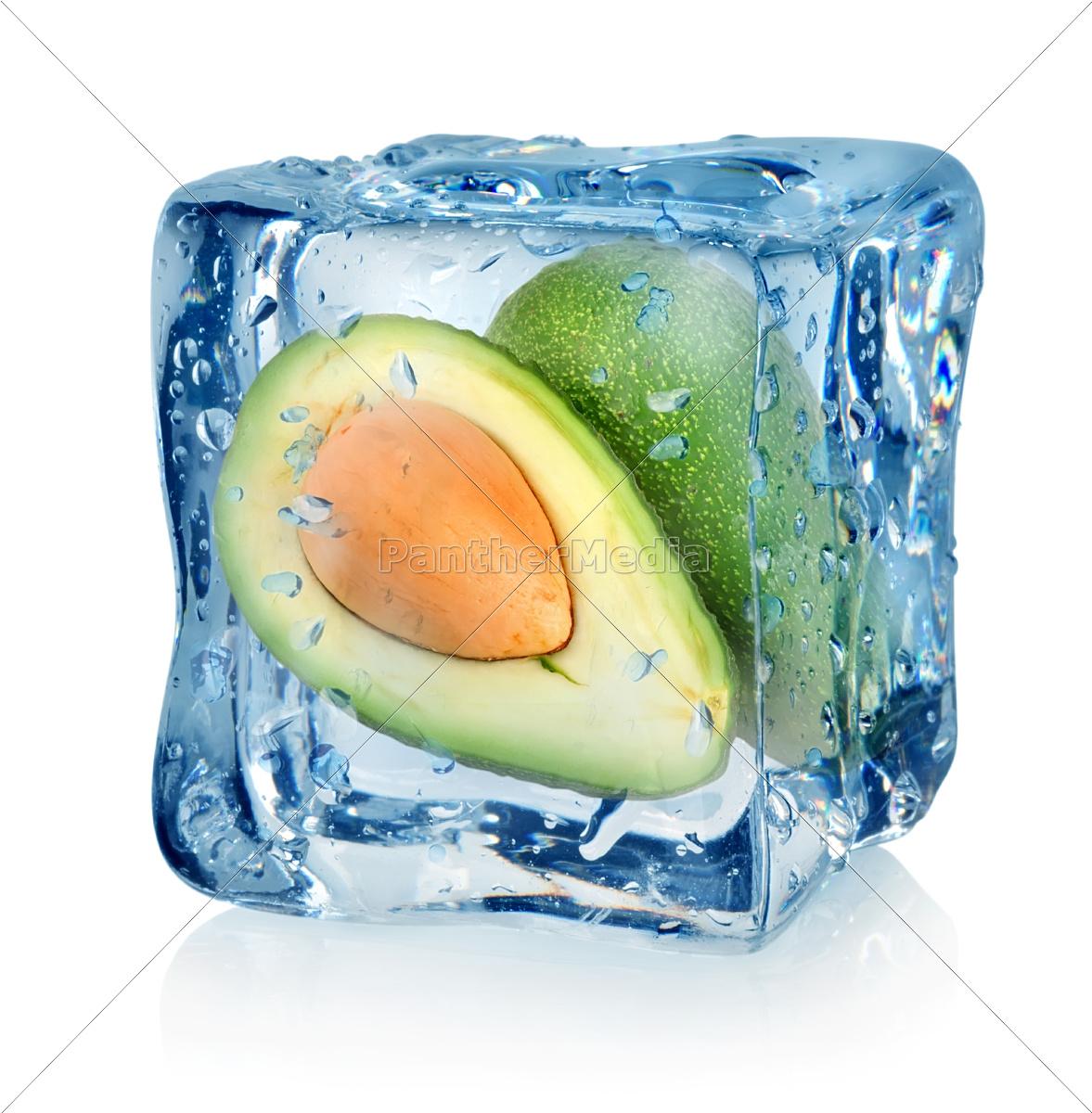 avocado, in, ice, cube - 10036118