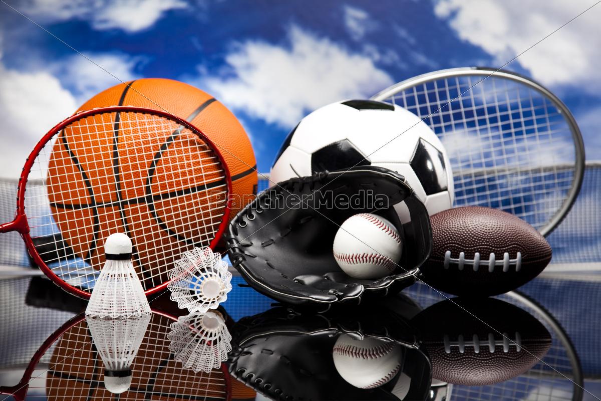 four, sport, , a, lot, of, balls - 10036292